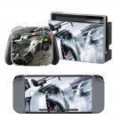 HD games car design decal for Nintendo switch console sticker skin