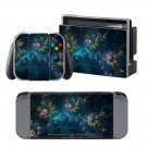 Galaxy fires design decal for Nintendo switch console sticker skin