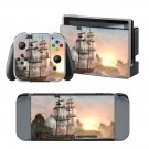 Old Ship design decal for Nintendo switch console sticker skin