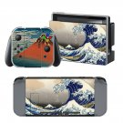Sea Water Wave design decal for Nintendo switch console sticker skin