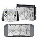 Square Block design decal for Nintendo switch console sticker skin