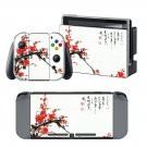 Flower Tree design decal for Nintendo switch console sticker skin