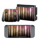 Colorful Wallmate design decal for Nintendo switch console sticker skin