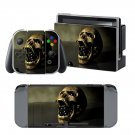 Scary skull design decal for Nintendo switch console sticker skin
