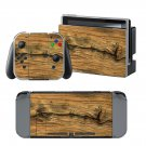 Wooden Board design decal for Nintendo switch console sticker skin