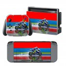 Motor Cycle Race design decal for Nintendo switch console sticker skin