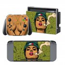 Sexy Girl Cartoon design decal for Nintendo switch console sticker skin