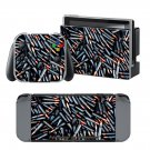 Bullets design decal for Nintendo switch console sticker skin