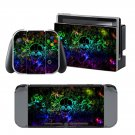 Cool Skull design decal for Nintendo switch console sticker skin