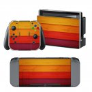 Wooden Color Board design decal for Nintendo switch console sticker skin