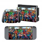 Marvel Super Heroes design decal for Nintendo switch console sticker skin