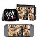 WWE Superstars design decal for Nintendo switch console sticker skin