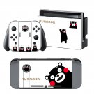Kumamon design decal for Nintendo switch console sticker skin