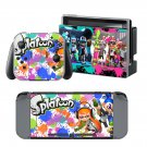 Splatoon design decal for Nintendo switch console sticker skin