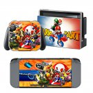 Mario Kart 8 design decal for Nintendo switch console sticker skin