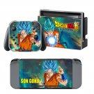 Dragon Ball Super design decal for Nintendo switch console sticker skin