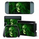 Forest Skull design decal for Nintendo switch console sticker skin