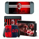 AC Milan design decal for Nintendo switch console sticker skin