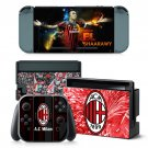 AC Milan decal for Nintendo switch console sticker skin