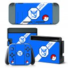 Team Mystic decal for Nintendo switch console sticker skin