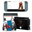 Ironman decal for Nintendo switch console sticker skin