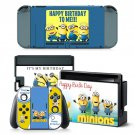 Minions decal for Nintendo switch console sticker skin