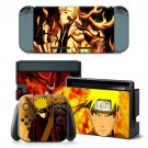 Naruto Six paths mode decal for Nintendo switch console sticker skin