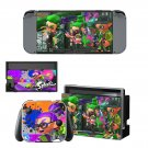Splatoon decal for Nintendo switch console sticker skin