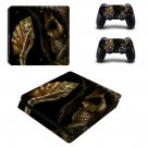 Depths Of Hell Animated ps4 slim edition skin decal for console and controllers