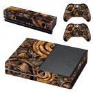 Copper Gears skin decal for Xbox one console and controllers