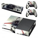 Color blast background skin decal for Xbox one console and controllers