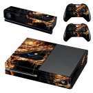 Predator skin decal for Xbox one console and controllers