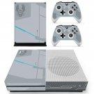 United Nations space command skin decal for Xbox one S console and controllers