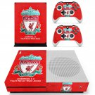 Liverpool skin decal for Xbox one S console and controllers