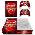 Arsenal skin decal for Xbox one S console and controllers