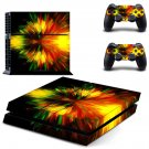 Big Bang Blast skin decal for PS4 PlayStation 4 console and 2 controllers