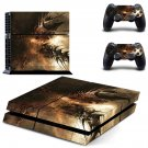 Dry Tree Brance skin decal for PS4 PlayStation 4 console and 2 controllers
