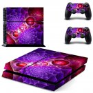 Spiral Ball skin decal for PS4 PlayStation 4 console and 2 controllers