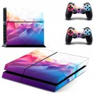 Prismic Floor  skin decal for PS4 PlayStation 4 console and 2 controllers