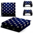 Blurry Stars skin decal for PS4 PlayStation 4 console and 2 controllers