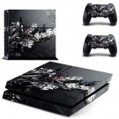 Flower Brance  skin decal for PS4 PlayStation 4 console and 2 controllers