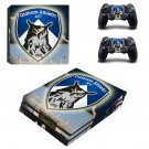Oldham athletic AFC ps4 pro skin decal for console and controllers