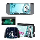 Hatsune Miku decal for Nintendo switch console sticker skin