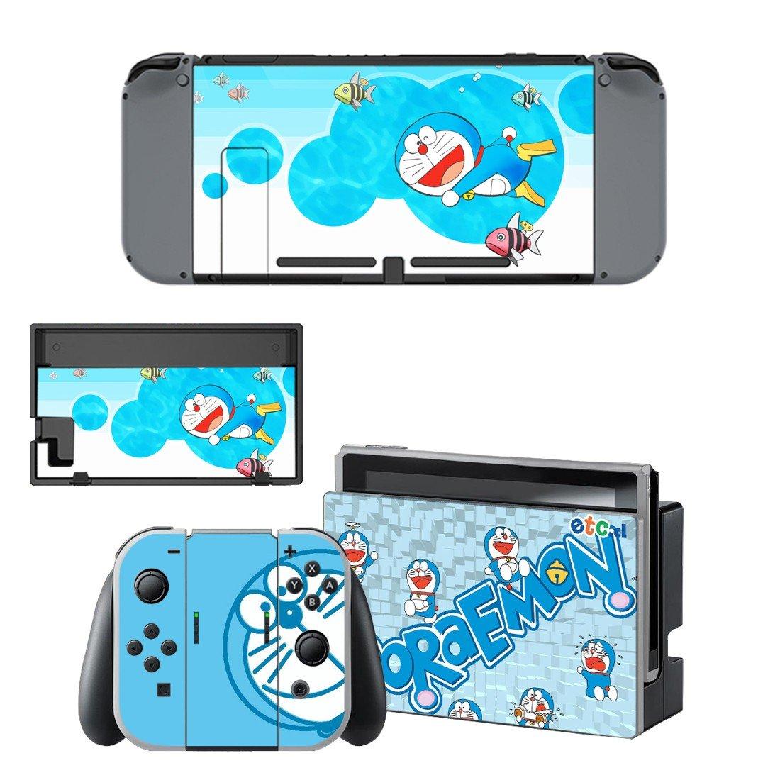 Doraemon decal for Nintendo switch console sticker skin