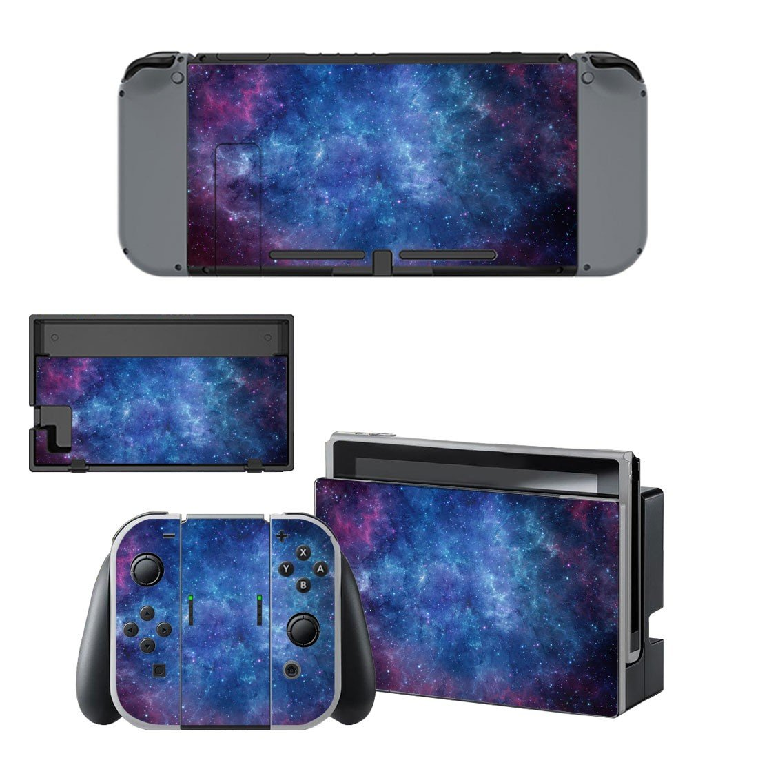 Starry sky decal for Nintendo switch console sticker skin