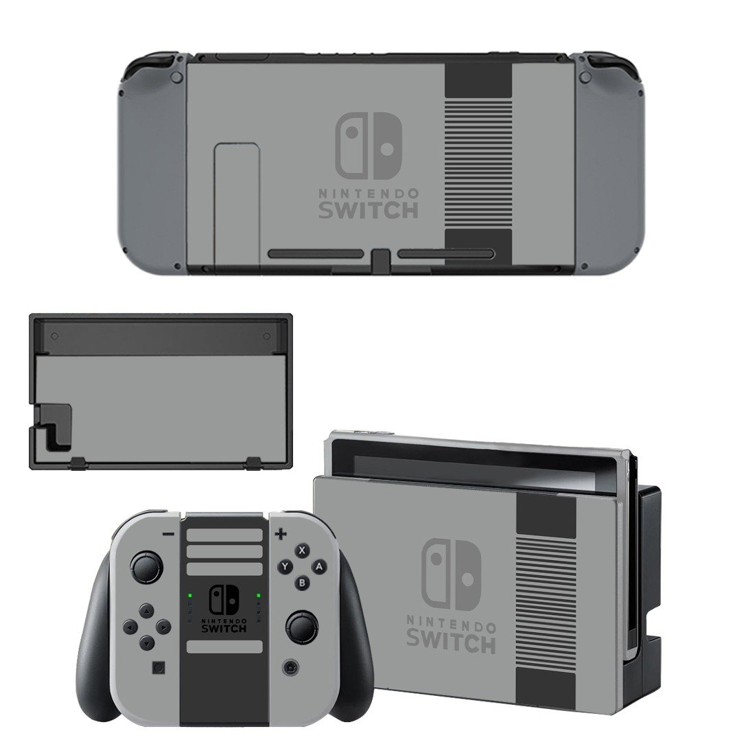 Classic design decal for Nintendo switch console sticker skin