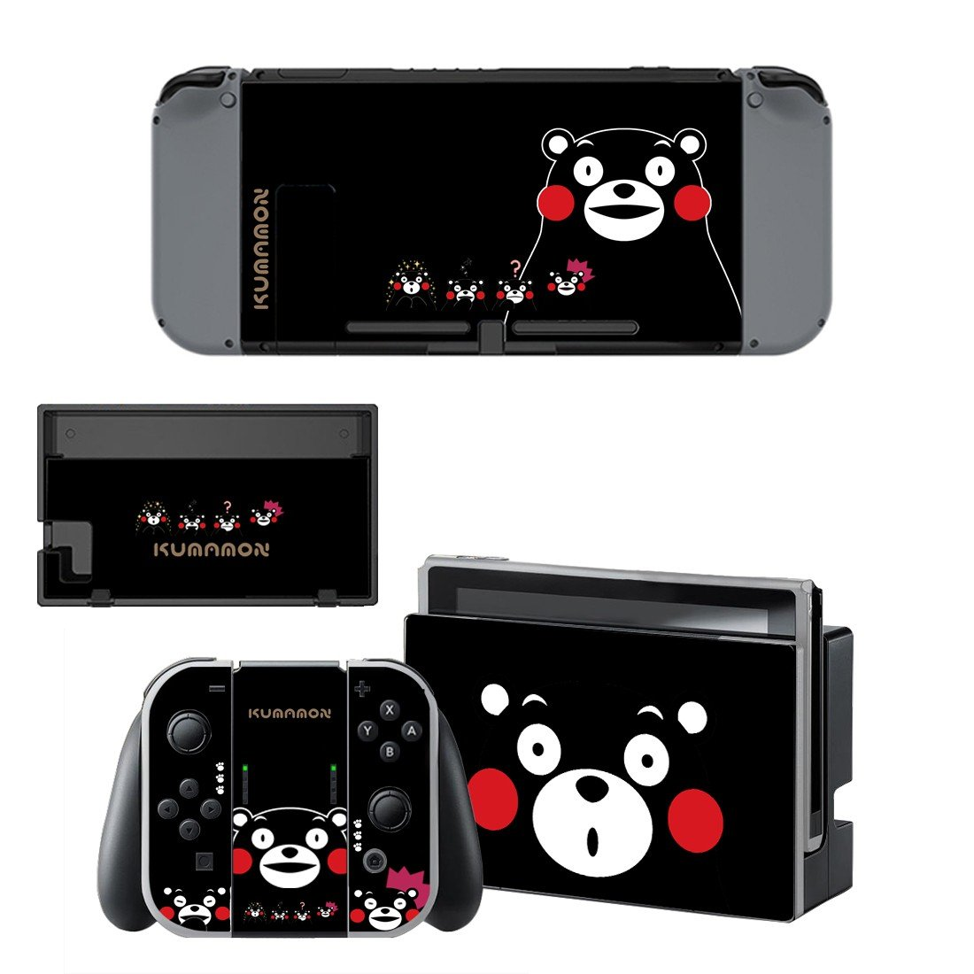 Kumamon decal for Nintendo switch console sticker skin
