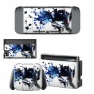 Blade wolf decal for Nintendo switch console sticker skin