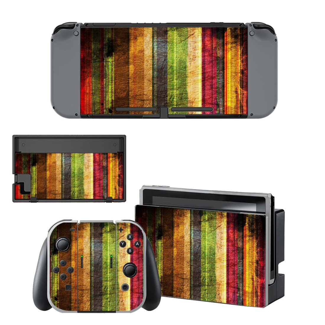Blurry wall decal for Nintendo switch console sticker skin