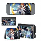 Sword art online decal for Nintendo switch console sticker skin